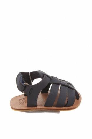 Детски сандали Zara, Размер 15, Цвят Син, Естествена кожа, Цена 51,75лв.