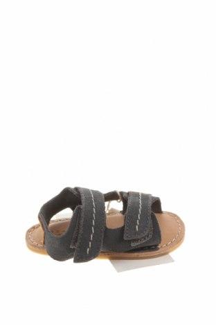 Детски сандали Zara, Размер 15, Цвят Син, Естествена кожа, Цена 15,03лв.