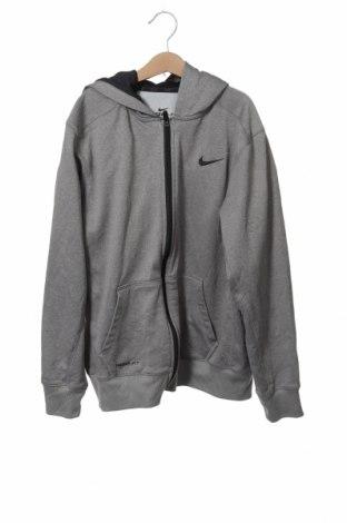 Dětská mikina  Nike, Velikost 13-14y/ 164-168 cm, Barva Šedá, Polyester, Cena  574,00Kč