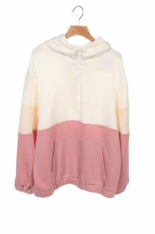 Dziecięca bluza Zara, Rozmiar 13-14y/ 164-168 cm, Kolor Różowy, 53% wiskoza, 43% poliester, 4% elastyna, Cena 65,63zł
