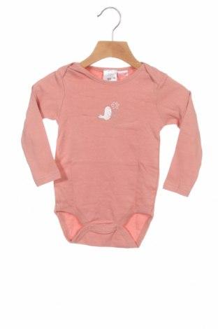 Детско боди Zara, Размер 18-24m/ 86-98 см, Цвят Пепел от рози, Памук, Цена 13,50лв.