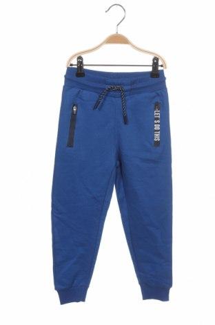 Dětské tepláky ZY kids, Velikost 3-4y/ 104-110 cm, Barva Modrá, 79% bavlna, 21% polyester, Cena  447,00Kč