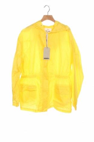 Детско яке Zara, Размер 13-14y/ 164-168 см, Цвят Жълт, Полиестер, Цена 21,45лв.