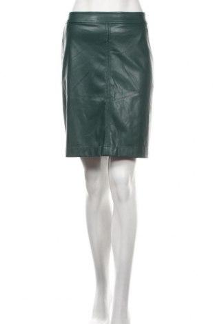 Kožená sukně  Comma,, Velikost L, Barva Zelená, Eko kůže, Cena  906,00Kč