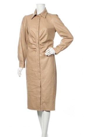 Kožené šaty  Orsay, Velikost M, Barva Béžová, Eko kůže, Cena  526,00Kč