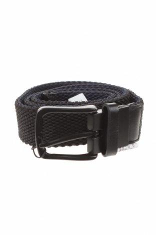 Колан Zara, Цвят Черен, Текстил, естествена кожа, Цена 29,25лв.