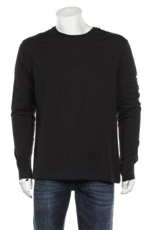 Bluză de bărbați H&M, Mărime XL, Culoare Negru, 95% bumbac, 5% elastan, Preț 76,48 Lei