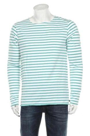 Мъжка блуза Scotch & Soda, Размер L, Цвят Бял, 95% памук, 5% еластан, Цена 47,17лв.