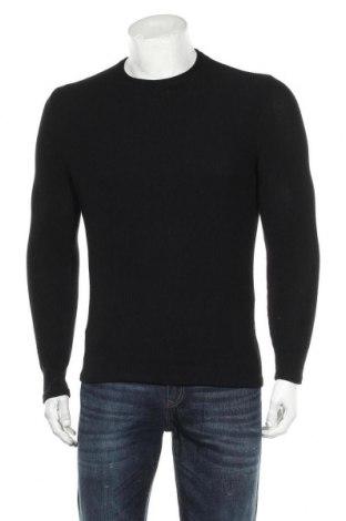 Ανδρική μπλούζα Zara, Μέγεθος S, Χρώμα Μαύρο, 88% βαμβάκι, 11% πολυεστέρας, 1% ελαστάνη, Τιμή 16,24€