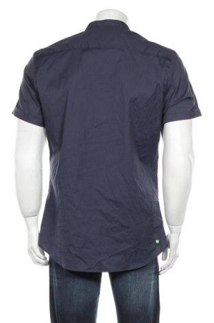 Ανδρική μπλούζα Zara, Μέγεθος L, Χρώμα Μπλέ, 75% βαμβάκι, 20% πολυαμίδη, 5% ελαστάνη, Τιμή 17,01€