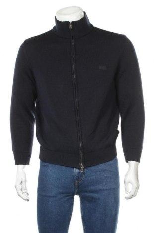 Ανδρική ζακέτα Hugo Boss, Μέγεθος M, Χρώμα Μπλέ, Μαλλί, Τιμή 53,07€