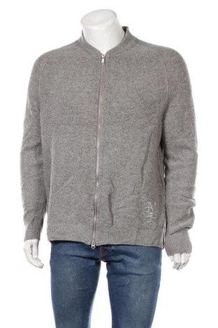 Ανδρική ζακέτα Marc O'Polo, Μέγεθος XL, Χρώμα Γκρί, 60% μαλλί, 20% λινό, 20% πολυαμίδη, Τιμή 41,95€