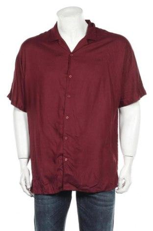 Ανδρικό πουκάμισο ASOS, Μέγεθος M, Χρώμα Κόκκινο, Βισκόζη, Τιμή 22,73€