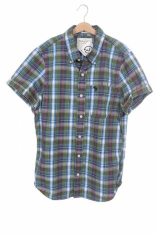 Мъжка риза Abercrombie & Fitch, Размер M, Цвят Многоцветен, Памук, Цена 24,00лв.