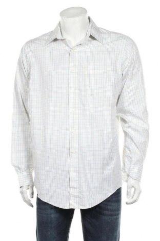 Мъжка риза Brooks Brothers, Размер M, Цвят Многоцветен, Памук, Цена 33,75лв.