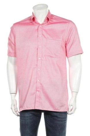 Ανδρικό πουκάμισο Christian Berg, Μέγεθος M, Χρώμα Ρόζ , Βαμβάκι, Τιμή 10,21€