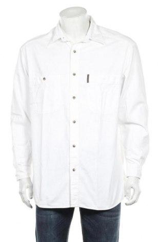 Мъжка риза Country Road, Размер M, Цвят Бял, Памук, Цена 31,50лв.
