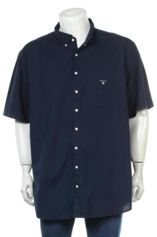 Мъжка риза Gant, Размер 4XL, Цвят Син, Памук, Цена 76,50лв.
