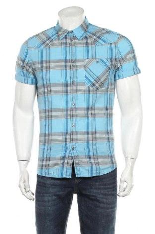 Ανδρικό πουκάμισο H&M Divided, Μέγεθος S, Χρώμα Πολύχρωμο, Βαμβάκι, Τιμή 10,21€