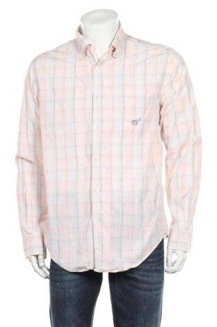 Ανδρικό πουκάμισο Henry Cotton's, Μέγεθος L, Χρώμα Ρόζ , Βαμβάκι, Τιμή 14,84€