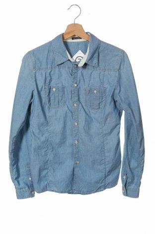Мъжка риза Marc O'Polo, Размер S, Цвят Син, Памук, Цена 27,00лв.