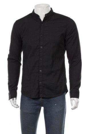 Pánská košile  Q/S by S.Oliver, Velikost M, Barva Černá, 98% bavlna, 2% elastan, Cena  431,00Kč