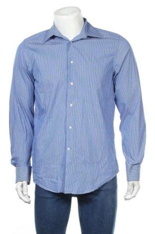 Мъжка риза Rene Lezard, Размер M, Цвят Син, Цена 38,25лв.