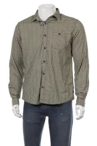 Мъжка риза S.Oliver, Размер M, Цвят Многоцветен, 98% памук, 2% еластан, Цена 29,67лв.