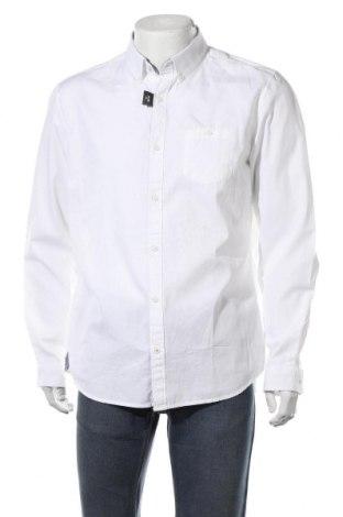 Мъжка риза S.Oliver, Размер XL, Цвят Бял, Памук, Цена 48,00лв.
