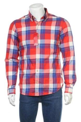 Мъжка риза S.Oliver, Размер M, Цвят Многоцветен, Памук, Цена 29,67лв.
