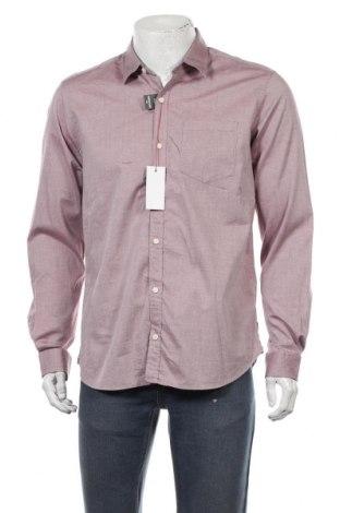 Мъжка риза S.Oliver, Размер L, Цвят Розов, 98% памук, 2% еластан, Цена 29,67лв.