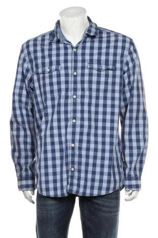 Мъжка риза S.Oliver, Размер XL, Цвят Син, Памук, Цена 18,00лв.