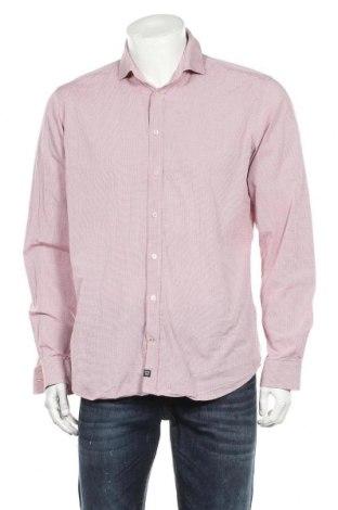 Ανδρικό πουκάμισο Strellson, Μέγεθος L, Χρώμα Κόκκινο, Βαμβάκι, Τιμή 16,70€