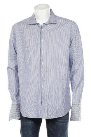 Мъжка риза Tom Rusborg, Размер XL, Цвят Син, Памук, Цена 33,75лв.