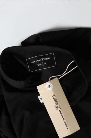 Ανδρικό πουκάμισο Tom Tailor, Μέγεθος M, Χρώμα Μαύρο, 95% βαμβάκι, 5% ελαστάνη, Τιμή 26,68€