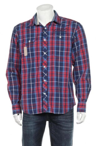 Мъжка риза Tom Tailor, Размер M, Цвят Многоцветен, Памук, Цена 27,00лв.