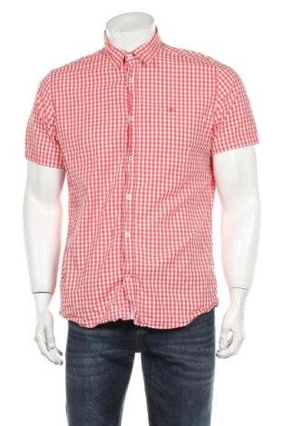 Ανδρικό πουκάμισο Tom Tailor, Μέγεθος L, Χρώμα Κόκκινο, Βαμβάκι, Τιμή 13,46€