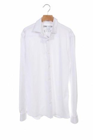 Pánská košile  Zara, Velikost S, Barva Bílá, 80% polyamide, 20% elastan, Cena  367,00Kč