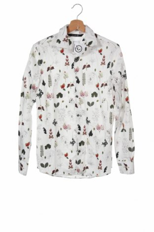 Мъжка риза Zara, Размер S, Цвят Многоцветен, Памук, Цена 29,25лв.