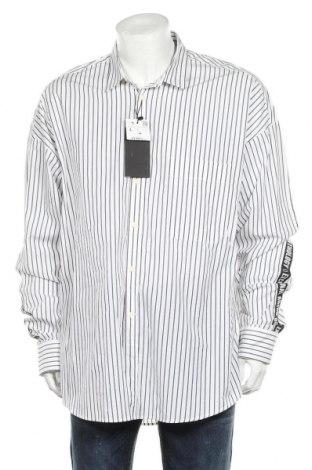 Ανδρικό πουκάμισο Zara, Μέγεθος L, Χρώμα Λευκό, Βαμβάκι, Τιμή 25,98€