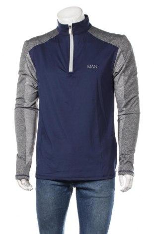Ανδρική αθλητική μπλούζα Boohoo, Μέγεθος XL, Χρώμα Μπλέ, 94% πολυεστέρας, 6% ελαστάνη, Τιμή 17,01€