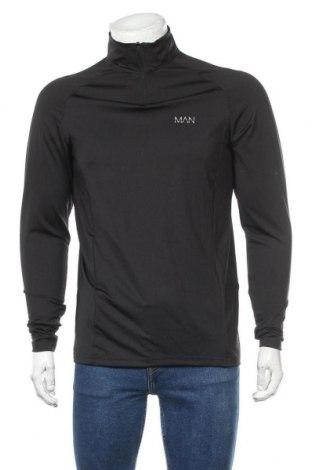 Pánské sportovní tričko Boohoo, Velikost L, Barva Černá, 92% polyester, 8% elastan, Cena  200,00Kč