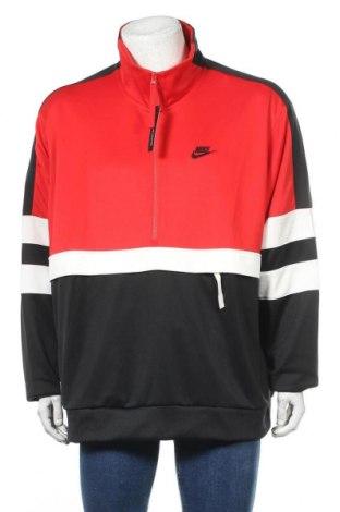 Bluză trening de bărbați Nike, Mărime XXL, Culoare Roșu, Poliester, Preț 131,74 Lei
