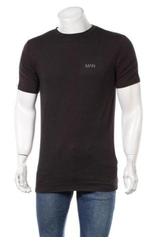 Мъжка тениска Boohoo, Размер XS, Цвят Черен, 94% памук, 6% еластан, Цена 15,40лв.