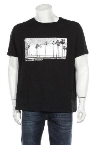 Tricou de bărbați H&M, Mărime XL, Culoare Negru, Bumbac, Preț 68,42 Lei
