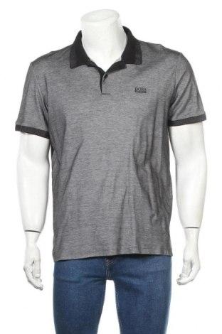 Ανδρικό t-shirt Hugo Boss, Μέγεθος XL, Χρώμα Γκρί, Βαμβάκι, Τιμή 61,47€