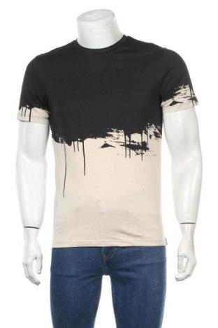 Мъжка тениска Jack & Jones, Размер S, Цвят Черен, Памук, Цена 29,90лв.