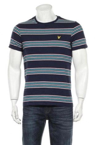 Ανδρικό t-shirt Lyle & Scott, Μέγεθος M, Χρώμα Μπλέ, 100% βαμβάκι, Τιμή 14,48€