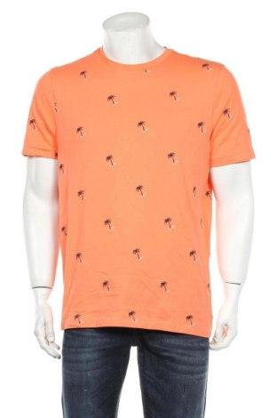 Мъжка тениска McNeal, Размер L, Цвят Оранжев, Памук, Цена 10,44лв.