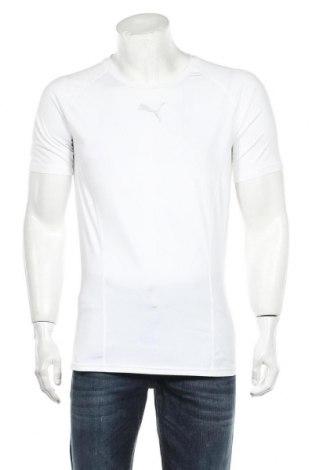 Мъжка тениска PUMA, Размер XL, Цвят Бял, Цена 30,75лв.